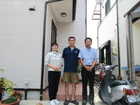 春日井市T様邸、外壁屋根塗装工事、ダイナミックトップ、サーモアイ遮熱フッ素
