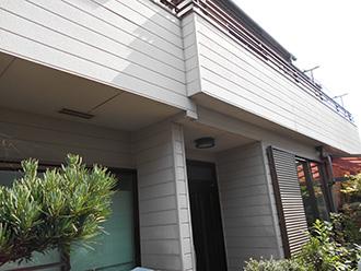 愛知県名古屋市Y様_外壁塗装工事_施工前外観画像
