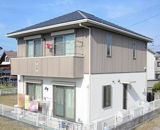 愛知県春日井市O様_外壁塗装工事_施工前外観画像
