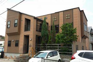 愛知県名古屋市T様_外壁塗装工事_施工前外観画像