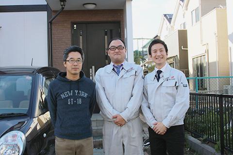 愛知県春日井市K様_外壁屋根塗替工事_お客様の声_記念撮影