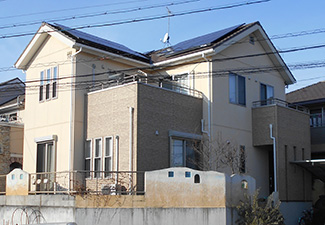 愛知県春日井市T様_外壁塗装工事_施工前外観画像