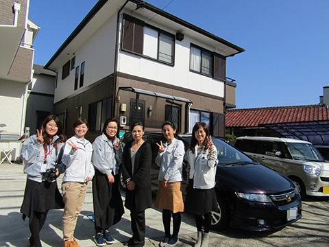 愛知県春日井市W様_外壁屋根塗替工事_お客様の声_記念撮影