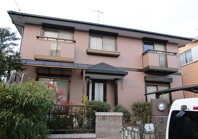 愛知県小牧市K様_外壁屋根塗替え工事_施工後全景写真