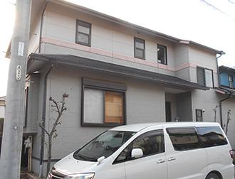 愛知県犬山市I様_外壁屋根塗装工事_施工前外観画像