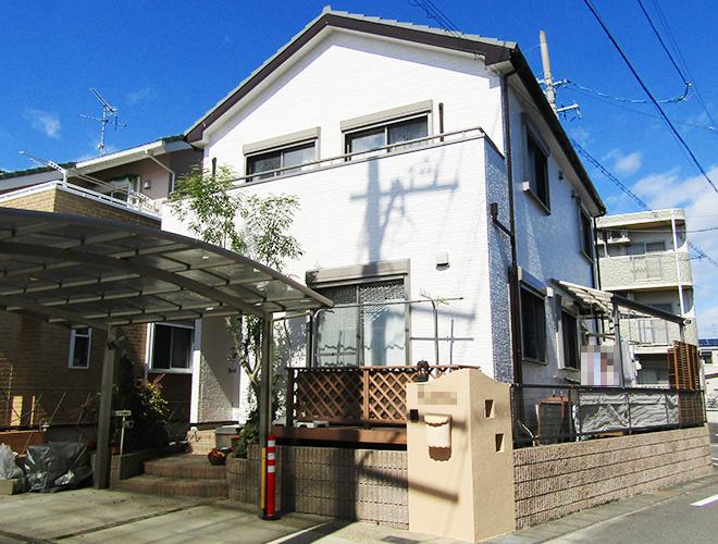 愛知県小牧市T様_外壁屋根塗装工事_施工後全景写真_株式会社麻布